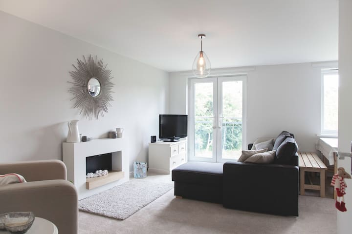 Modern apartment close to Sevenoaks station - Sevenoaks