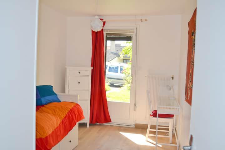 quiet room garden U Lille 1