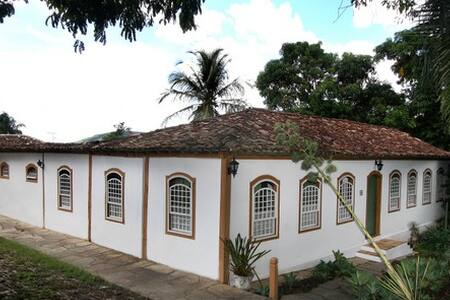 Bela casa colonial de meados do séc. XVIII. - Pirenópolis - Talo
