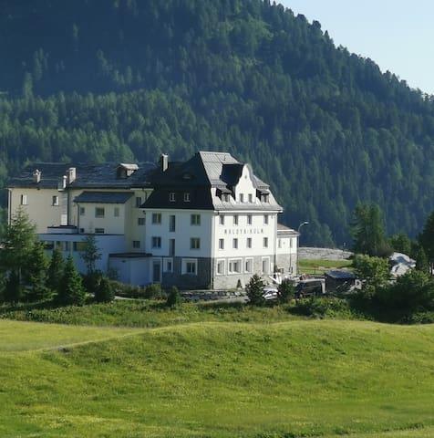 Hotel Maloja Kulm - Einzelzimmer einfach