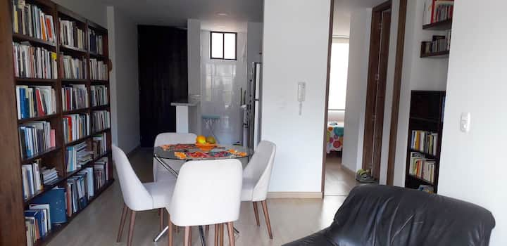 Modern apartment in Teusaquillo