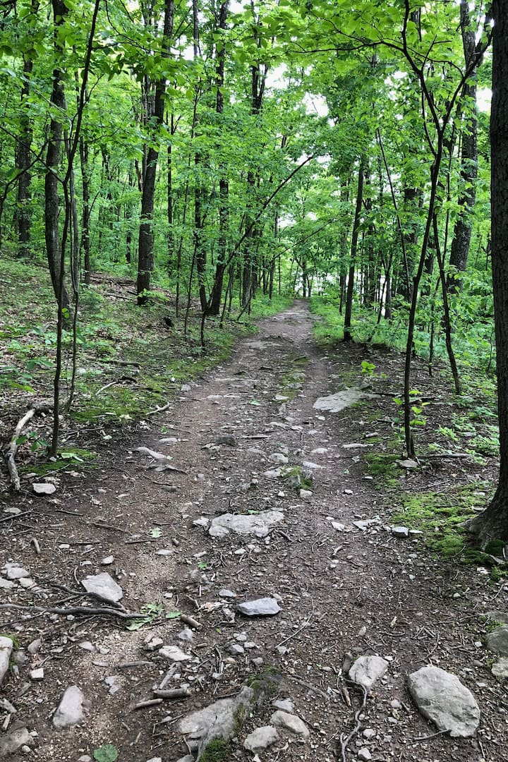 Ralph Stover hiking trail