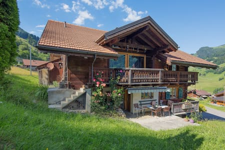 Appartment in front of Dent du Midi - Val-d'Illiez - 公寓