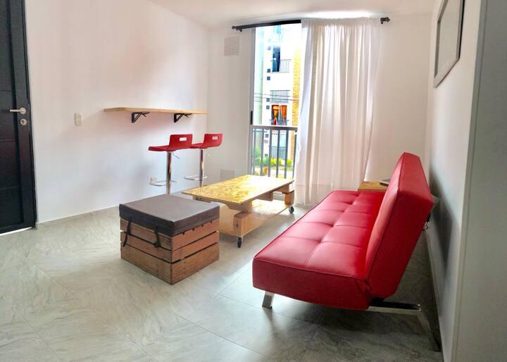 Moderno y acogedor apartamento, Ibagué!