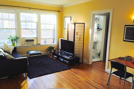 Bright & spacious 1 BD in Lakeview - Chicago
