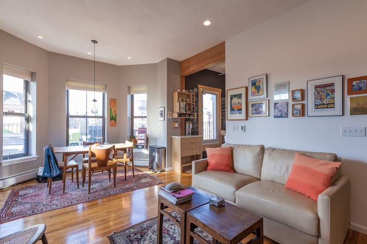 Luxury South End Apartment