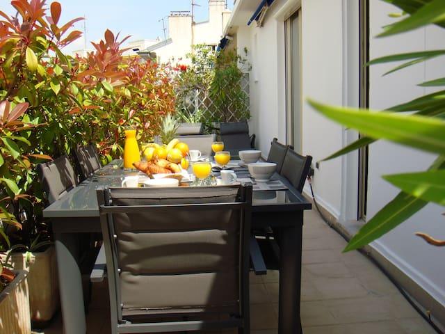 Carre d'Or Superb Terrace Last Etg
