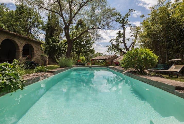 I Fontoni Cortona a Green Paradise! - Cortone - Villa