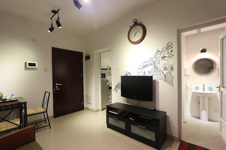【宫遇】17-KKmall楼上一房一厅--【Loft时代】