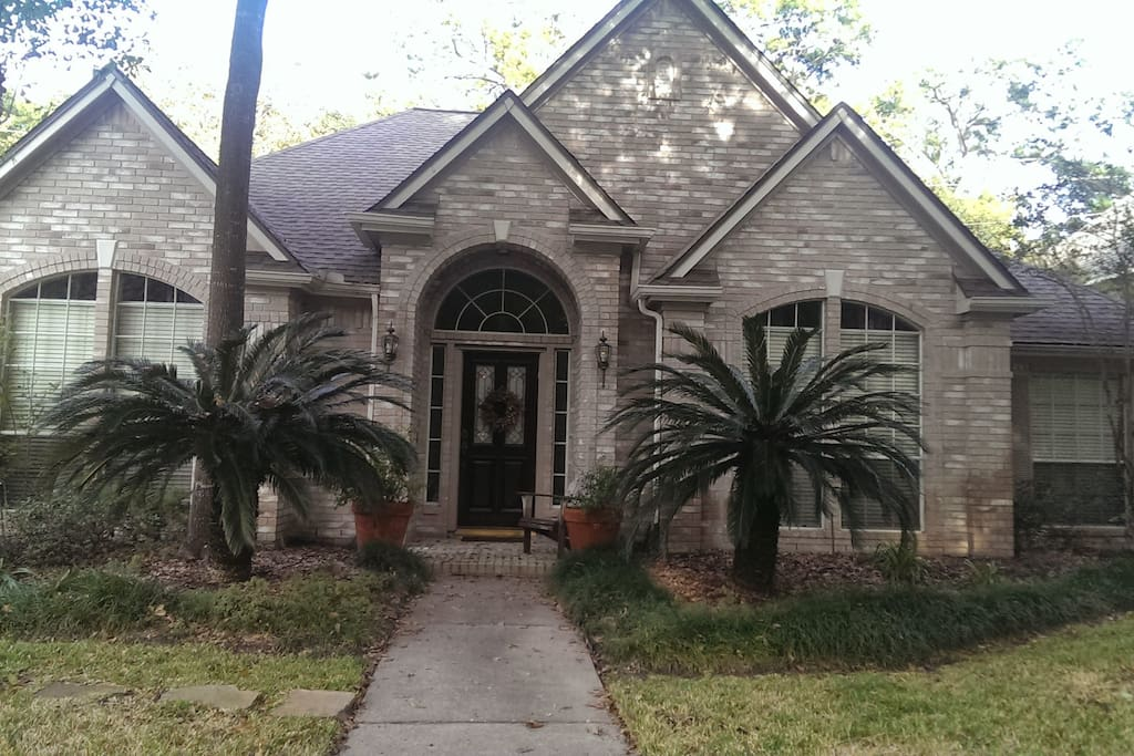 Beautiful home heavily wooded lot houses for rent in for Beautiful homes in houston