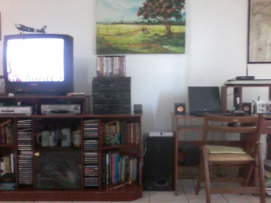 TV, wifi and computer