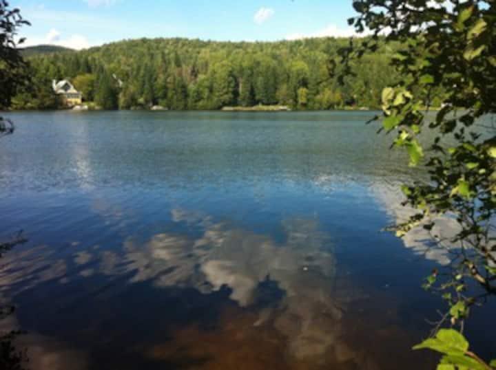 Chalet au bord du lac