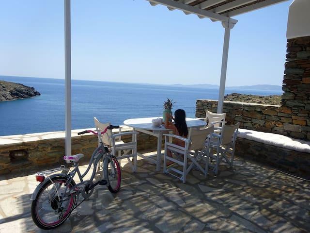 Sun Blooming Villa in Tinos island - Tinos - Casa de camp