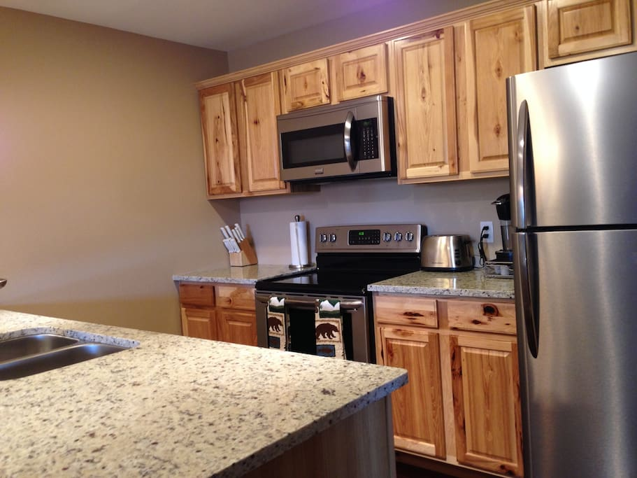 Updated Kitchen with amenities.