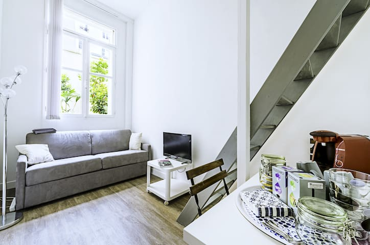 Charming Flat with private bathroom -Paris center - Paris - Flat