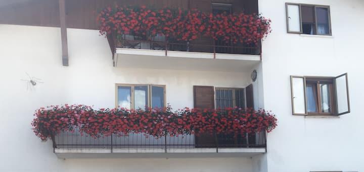Charming flat in Cesuna, sleep up to 8