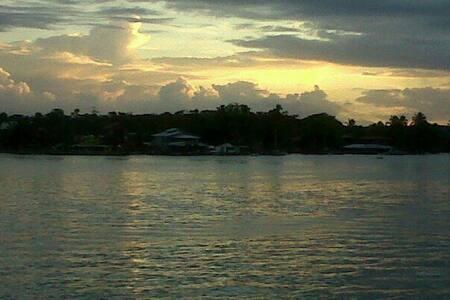 Sunrise in Bocas