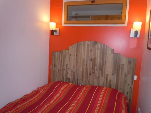 """AVORIAZ:Appart.,1 Chambre,5 pers.""""skis aux pieds"""""""