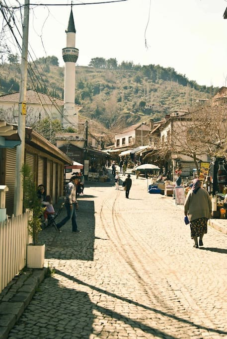 The famous wine making village of Şirince, 8km from Bethany House