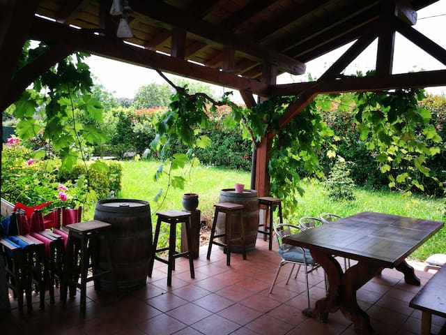 Quiet,cozy place.Close to bilbao-beaches-airport