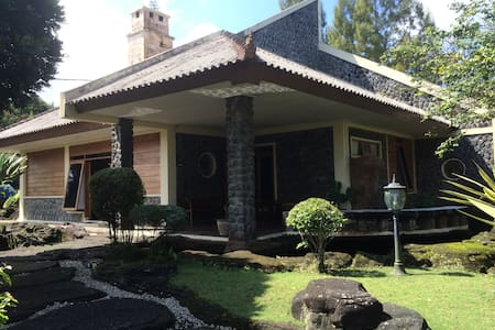 Villa on a foothill - Wonosobo - 別荘