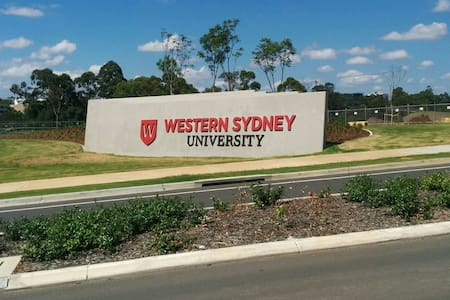 Nice cosy private double bedroom newhouse inSydney - Campbelltown - Ház