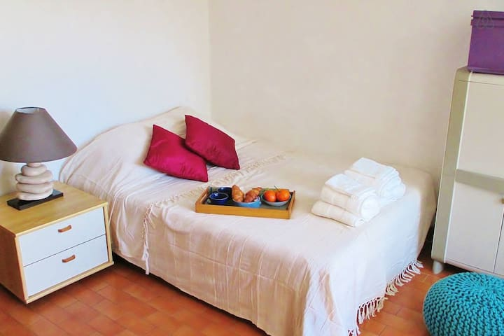 Quiet Studio near beach, hills and art galleries! - Argelès-sur-Mer - Apartment