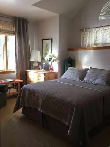 Mountain View-private room/bathrm - Vail - Casa