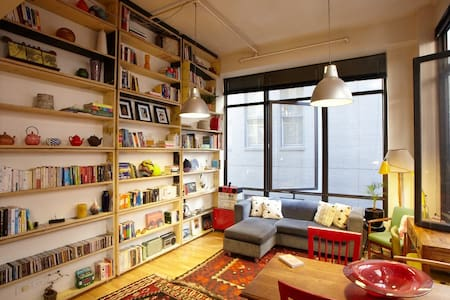 AWESOME City Laneway Warehouse Apt - Melbourne - Appartement