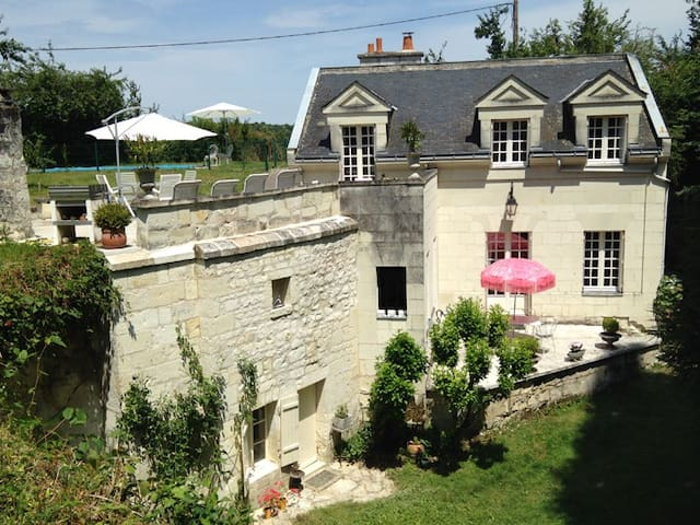 Lovely Loirehouse very private - Seuilly - Haus