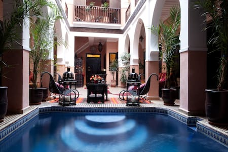 Riad la rose dorient chbr Ballerina § spa et hamam - Marrakesh - Bed & Breakfast