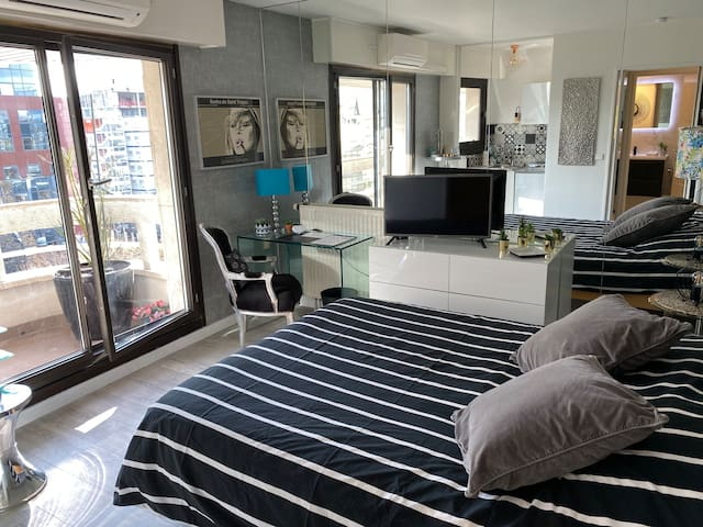 Beautiful modern fully furnished studio