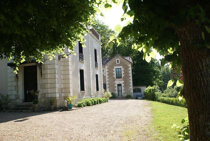 """Le Château de la Barre - Chambre """"L'Orée du Bois"""""""