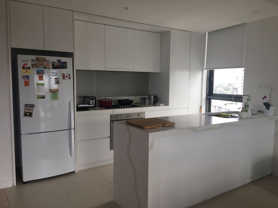Brand new fully equipped kitchen with dishwasher