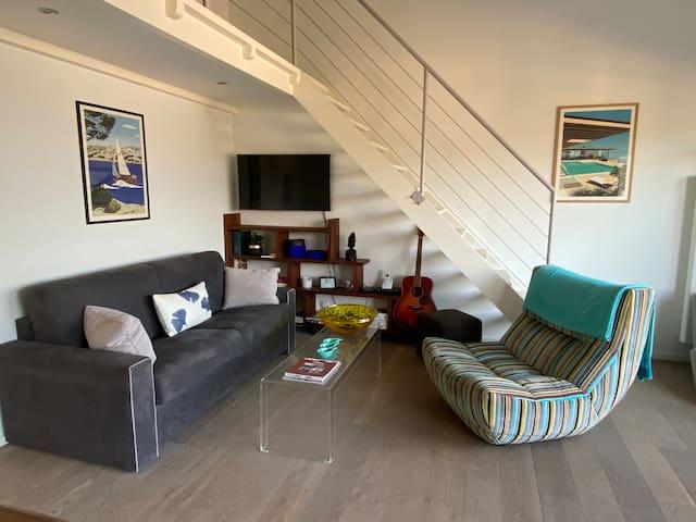 Espace salon, TV