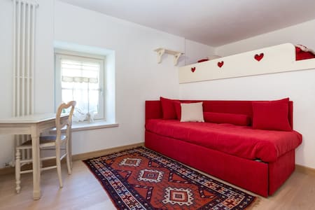 ❤️Lovely flat in the mountain, private garden! - Étroubles - Wohnung