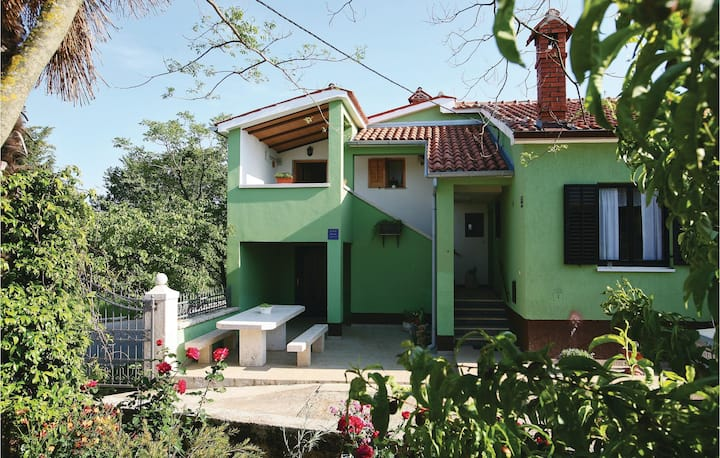 Stunning home in Hreljici with WiFi and 1 Bedrooms