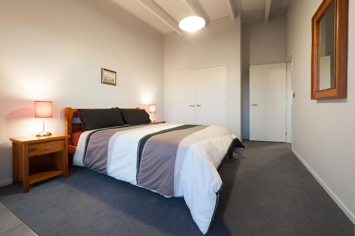 Bedroom 2, access to deck and full sea view