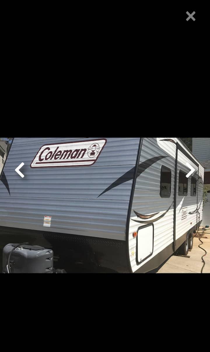 2016 Coleman camper