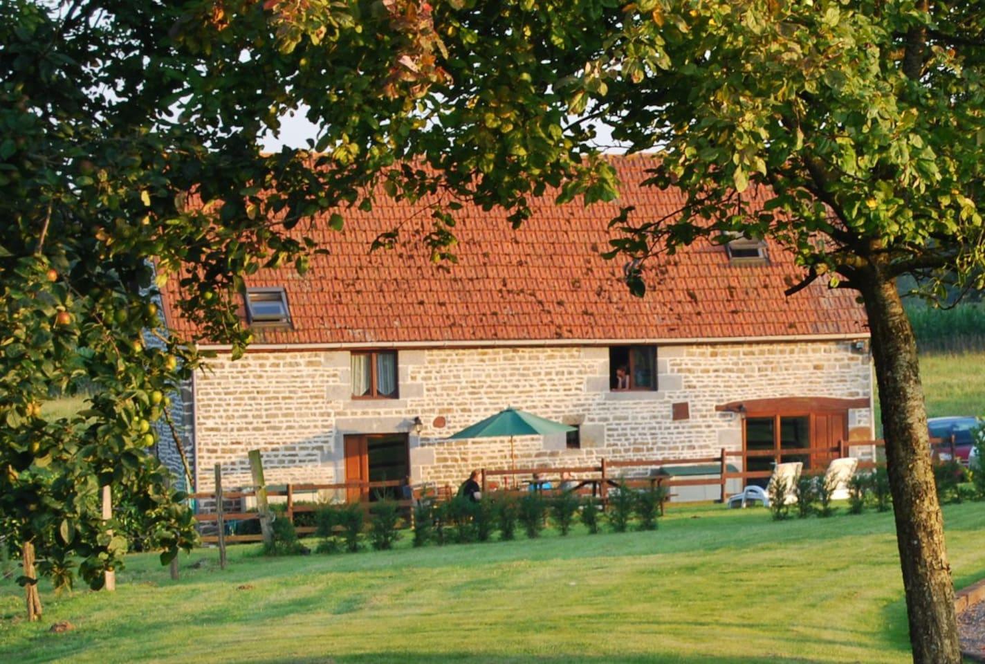 Les Basses Beaulinges converted barn