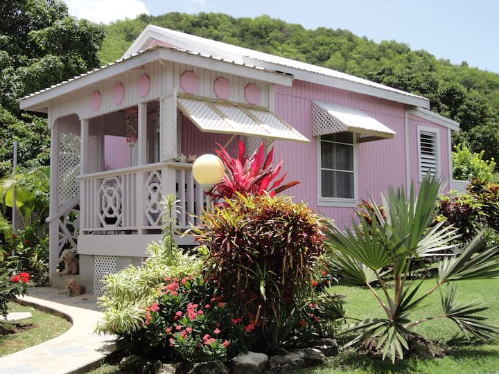 Adorable Pinkshack Studio Cottage