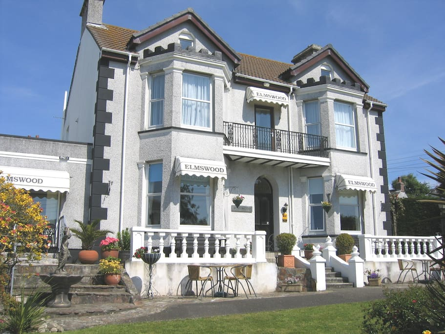Elmswood House AA 4 Star rated BnB in Cornwall