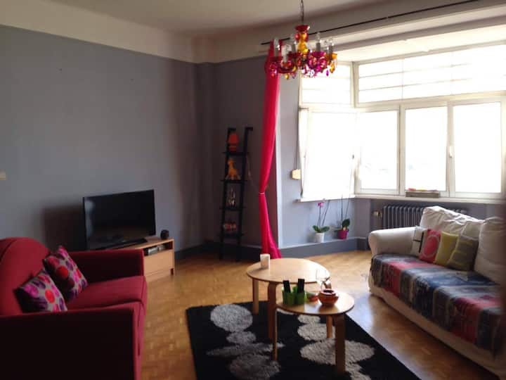 Pleasant apartment in the center of Liège