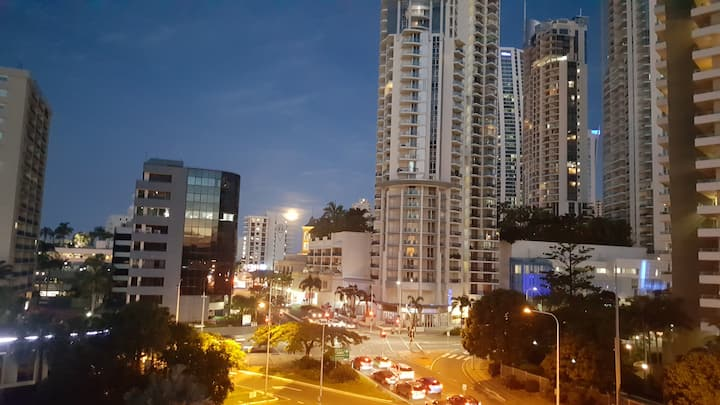 Located in Central Surfers paradise.