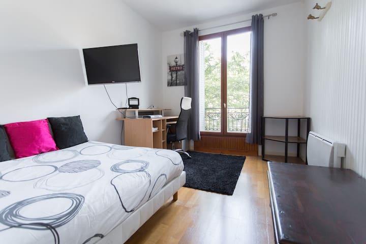 Spacieux et cosy T1 de 32 m2 au cœur des puces. - Saint-Ouen