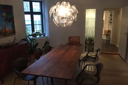 Spacious apartment in central Copenhagen - Copenhague - Appartement