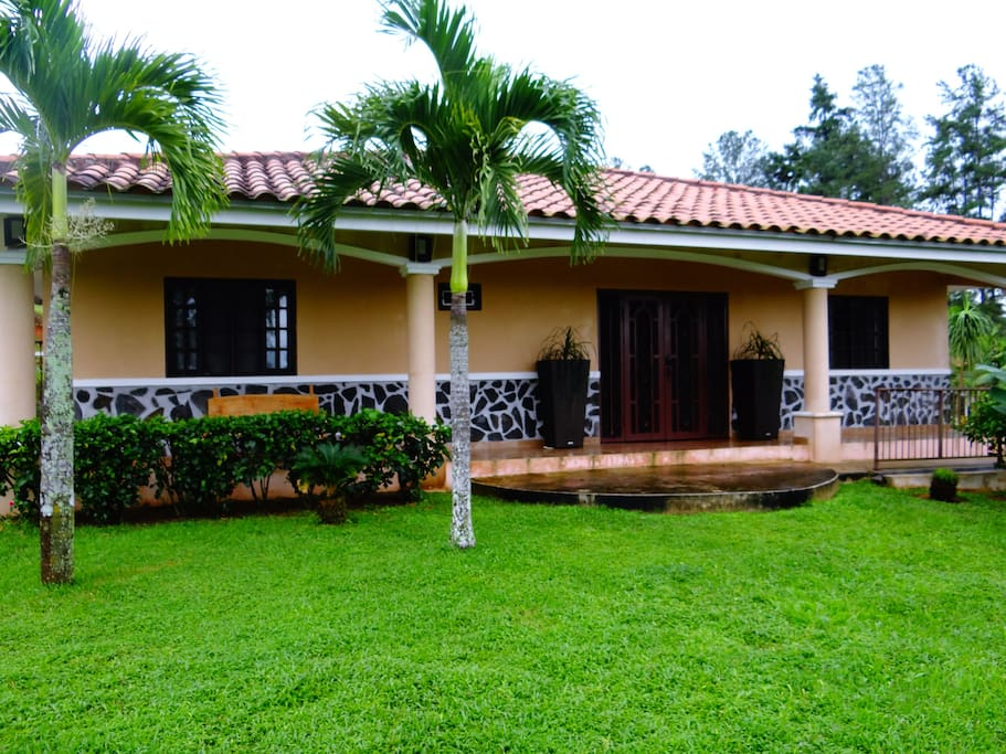 Newly constructed casita front view