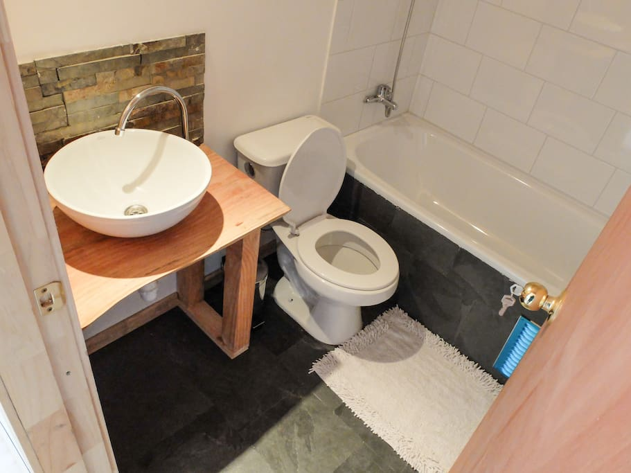 En suite bathroom!