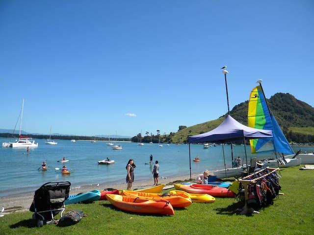 Pilot Bay kayaking