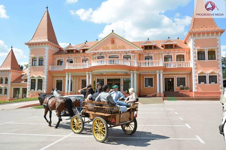 Hotel Villa Majur near horsefarm